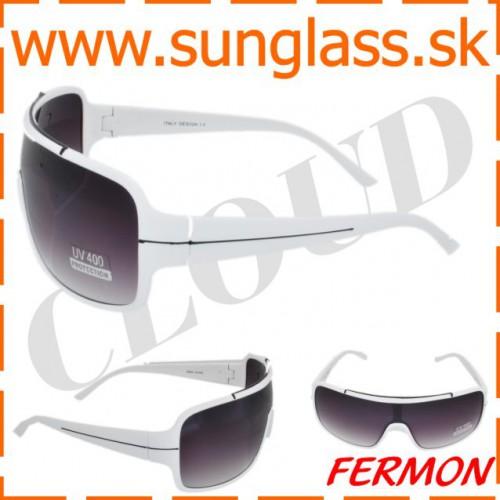 0a20dcb7b Biele slnečné okuliare pre ženy - CLOUD
